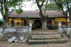 Tempel i den traditionella arkitektoniska stilen av öst, Hai D Arkivfoto