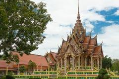 Tempel i det Thailand landskapet Pattani Arkivfoto