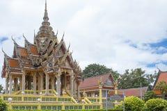 Tempel i det Thailand landskapet Pattani Arkivfoton
