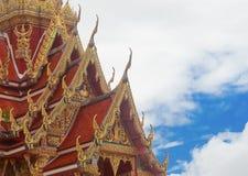 Tempel i det Thailand landskapet Pattani Arkivbild