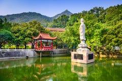 Tempel i Fuzhou Royaltyfria Bilder