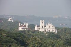 Tempel i Goa, Indien Arkivfoton