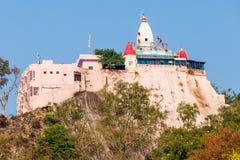 Tempel i Haridwar Arkivbild
