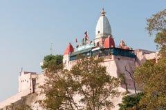 Tempel i Haridwar fotografering för bildbyråer