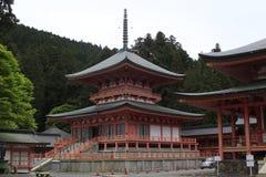 Tempel i Japan Arkivbild
