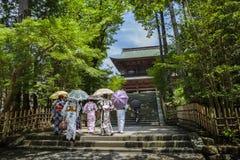 Tempel i Kamakura royaltyfri fotografi