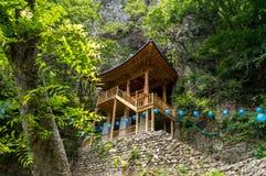 Tempel i klippan Royaltyfri Fotografi