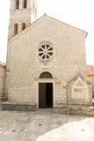 Tempel i kloster Rezevici i Montenegro Royaltyfri Foto