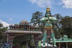 Tempel i Kuala Lumpur, Malaysia arkivfoto