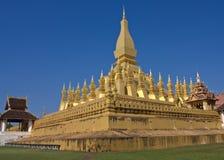 Tempel i laotiskt Fotografering för Bildbyråer