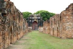 Tempel i Lop Buri fotografering för bildbyråer
