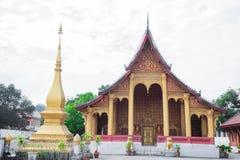 Tempel i Luang prabang Royaltyfria Foton