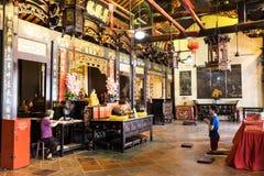 Tempel i Melaka Royaltyfria Bilder