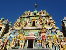 Tempel i Negombo/Sri Lanka Arkivfoton