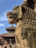 Tempel i Nepal Arkivfoton