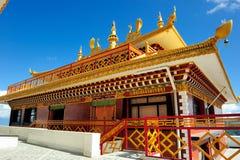 Tempel i Nepal Arkivfoto
