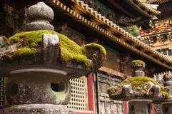 Tempel i Nikko, Japan Royaltyfri Bild