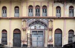 Tempel i Rishikesh Arkivfoto