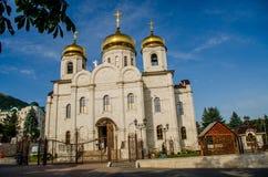 Tempel i staden av Pyatigorsk Arkivbilder