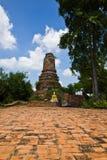 TEMPEL I THAILÄNDSK HISTORIA Arkivfoto
