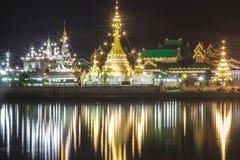 Tempel i Thailand Arkivbilder