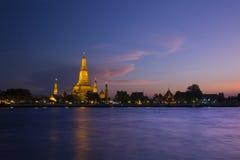 Tempel i Thailand Arkivfoton
