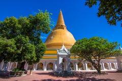 Tempel i Thailand Fotografering för Bildbyråer