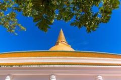 Tempel i Thailand Arkivfoto