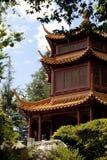 Tempel i träd Arkivbild