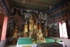 Tempel i Uthai Thani, Thailand royaltyfria foton