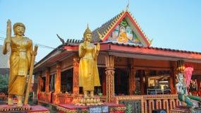 Tempel i Vang Vieng Arkivbild