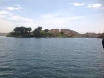 Tempel i vatten arkivbilder