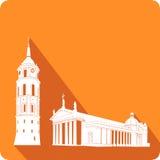 Tempel illustration Fotografering för Bildbyråer