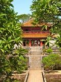 Tempel im Garten Lizenzfreie Stockfotos