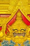 Tempel im großartigen Palast Bangkok Thailand Stockfoto