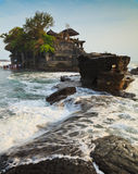 Tempel im Meer, Bali, Indonesien Lizenzfreies Stockbild