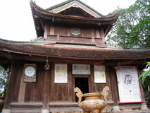 Tempel im traditionellen Baustil des Ostens, Hai D Stockfotos
