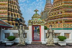 Tempel-Innen-Wat Pho-Tempel Bangkok Thailand Stockfoto