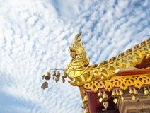 Tempel inThailand, Dach des Tempels, Thailand 2015 Stockbilder