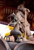 Tempel in Japan, cultuur Sensoji Stock Foto's