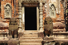 Tempel Kambodscha-Angkor Preah Ko Stockfoto