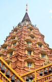 Tempel in Kanchanaburi, Thailand Lizenzfreies Stockfoto
