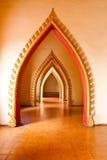 Tempel in Kanchanaburi, Thailand Lizenzfreie Stockfotografie