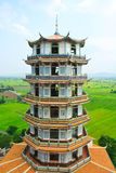 Tempel in Kanchanaburi, Thailand Stock Foto