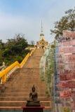 Tempel Khao Takiab (Essstäbchen-Hügel) oder Affe-Berg, wie er ist Lizenzfreie Stockfotografie