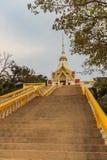 Tempel Khao Takiab (Essstäbchen-Hügel) oder Affe-Berg, wie er ist Stockfotos