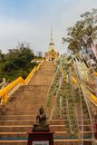 Tempel Khao Takiab (Essstäbchen-Hügel) oder Affe-Berg, wie er ist Lizenzfreie Stockfotos