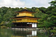 Tempel Kinkaku -kinkaku-ji Stock Foto's