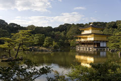 Tempel Kinkaku -kinkaku-ji in Kyoto Royalty-vrije Stock Afbeelding