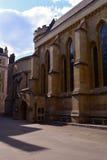 Tempel-Kirche, mittelalterliche Kirche errichtet von den Rittern Templar, London, Großbritannien Stockbild